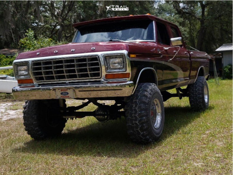 4 1978 F 250 Ford Custom Suspension Lift 6in Eagle Alloy Series 058 Polished