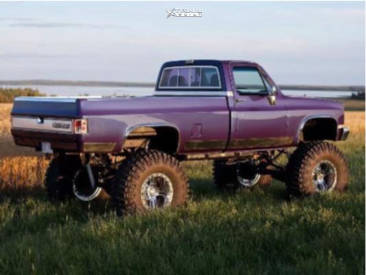 4 1981 K30 Chevrolet Superlift Lifted 12in Rev Offroad 811 Chrome