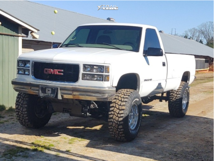 3 1998 K3500 Gmc Rough Country Suspension Lift 6in Ultra 164 Polished