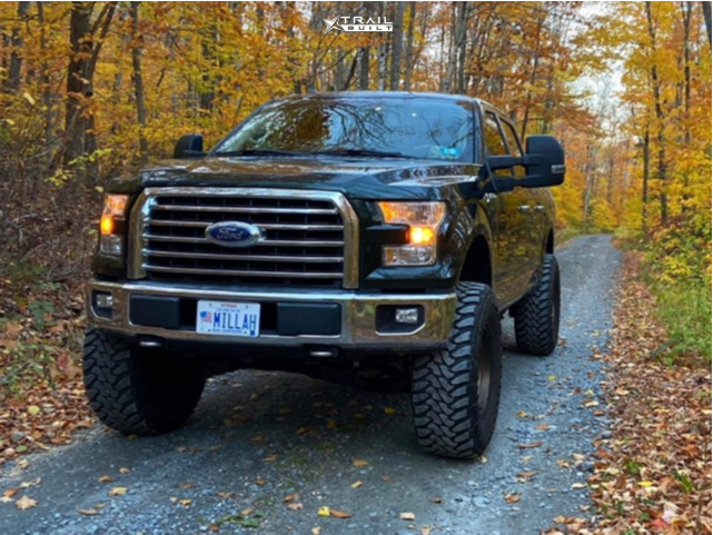 1 2016 F 150 Ford Bds Suspension Lift 65in Fuel Shok Bronze