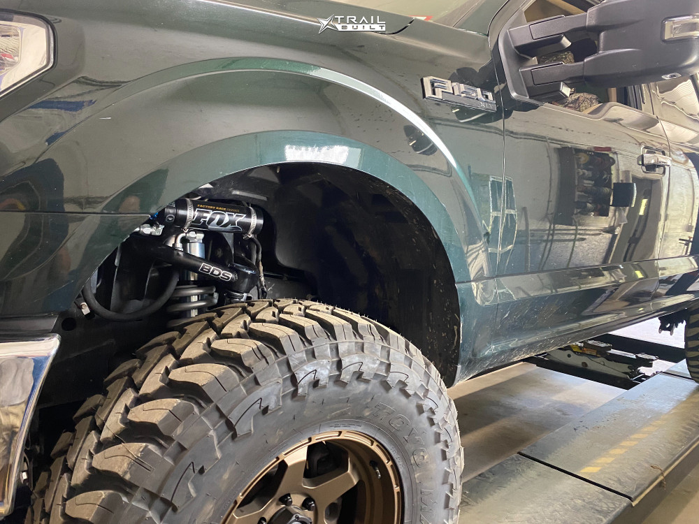 8 2016 F 150 Ford Bds Suspension Lift 65in Fuel Shok Bronze