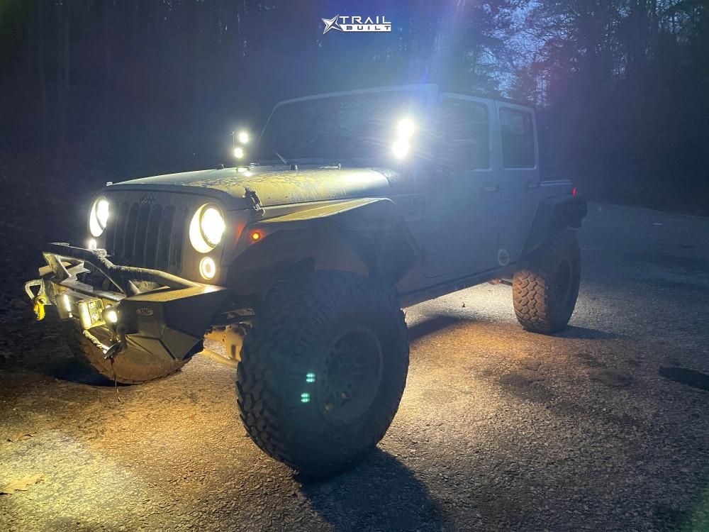 14 2007 Wrangler Jk Jeep Base Superlift Suspension Lift 25in Pro Comp 31 Matte Black