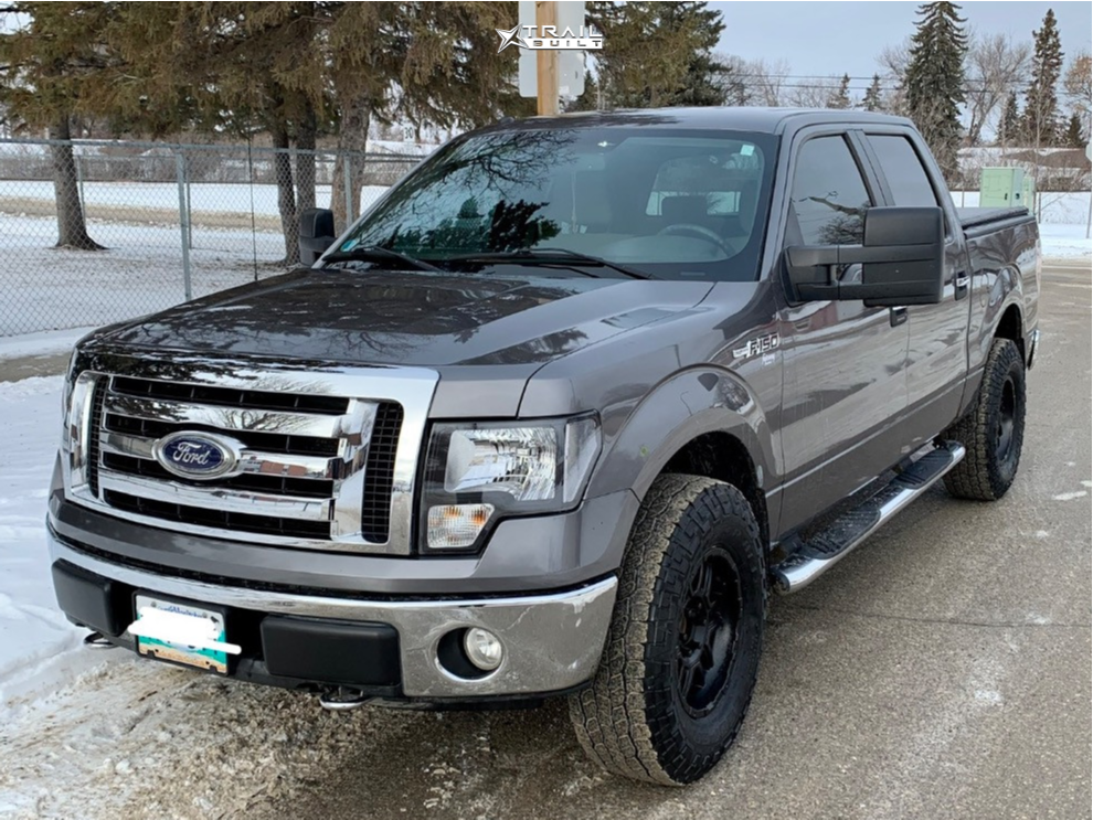 1 2009 F 150 Ford Stock Air Suspension Ion Alloy 179 Black