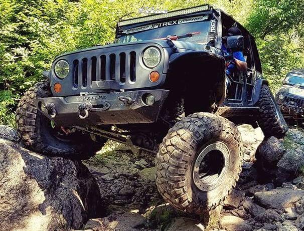 Doorless Jeep